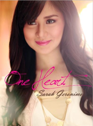 Sarah Geronimo One Heart CD Album Art