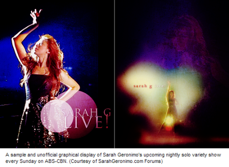 sarah geronimo live abscbn unofficial graphic