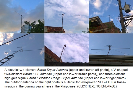 Baron TV Antenna Philippines Photo November-December 2012