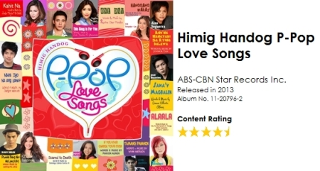 Himig Handog P-Pop Love Songs CD Album Details Content Ranking