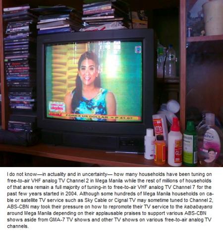 ALBCOR Household TV CH2 Manila